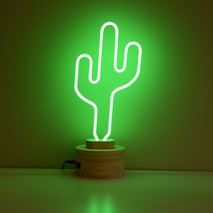 Neon Cactus Light - table lamps