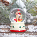 Nutcracker Christmas Mini Snow Globe