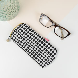 African Print Glasses Case