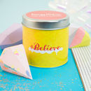'Believe' Lime Basil And Mandarin Scented Candle