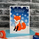 Large A5 sized Christmas card for children and teenagers