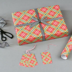Tartan Christmas Wrapping Paper - christmas wrapping paper