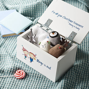 Personalised 'Magic Is Real' Christmas Eve Box - baby's first christmas