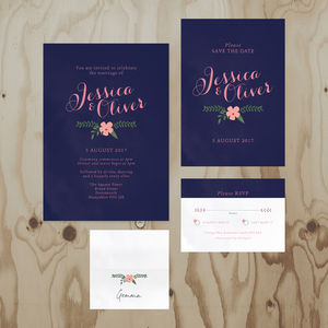 Summer Garden Wedding Stationery Collection