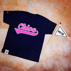 Personalised Swoosh T Shirt - t-shirts & tops