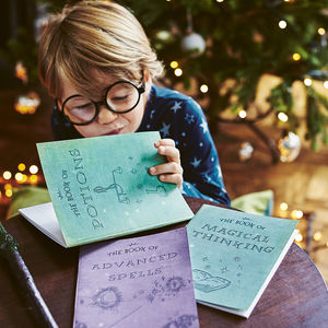 Set Of Magic Notebooks - best gifts for boys