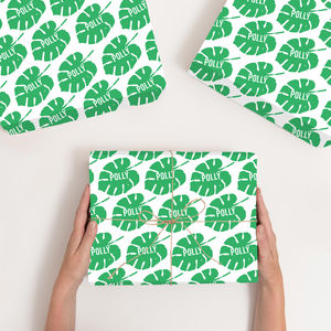 Personalised Palm Wrapping Paper