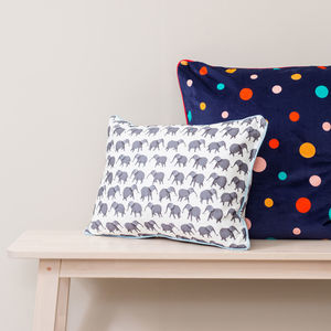 Circus Elephant Cushion - children's cushions