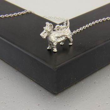 Scottie Necklace In Sterling Silver