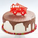 Custom Fire Engine Cake Topper