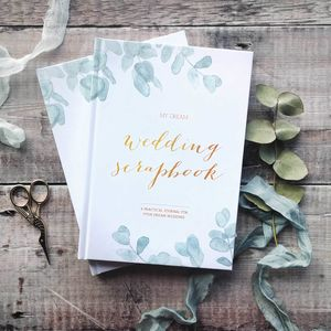 Wedding Planner Book Botanical | Engagement Gift - what's new