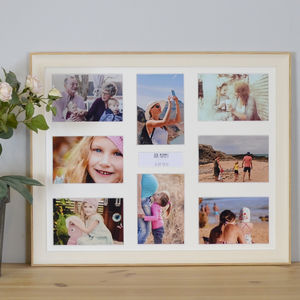 Personalised Family Memories Multi Picture Frame