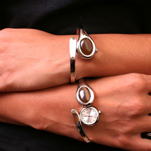 Ladies Engraved Bracelet Watch - watches