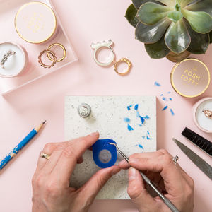 Personalised Silver Ring Making Workshop - 50th birthday gifts