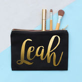 Personalised Metallic Make Up Bag - what's new