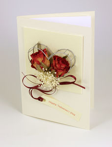 Real Roses Valentine's Card