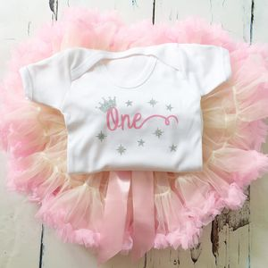 Baby Girls Birthday Onesie Babygrow