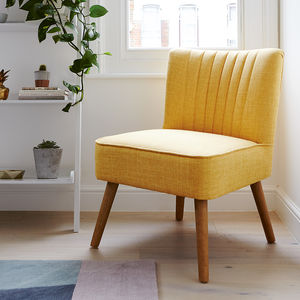 Retro Oyster Cocktail Chair - spring home refresh