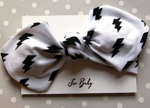Lightening Bolt Baby Headband