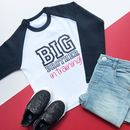 Big Brother In Training Raglan Top