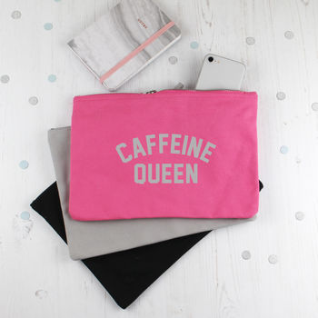 Make Up Accessories Bag For Coffee Lovers