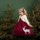 Rosie Reindeer Dress