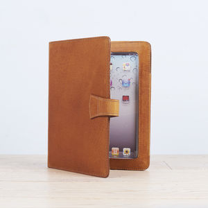 Leather iPad Cover With Stand