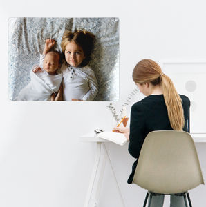 Create Your Own Bespoke Magnetic Board / Metal Wall Art - baby's room