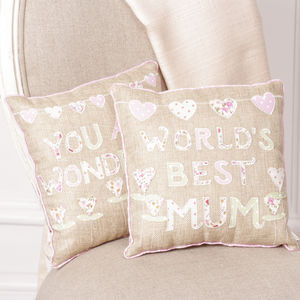 Mother's Day Gift Floral Mum Cushion Collection