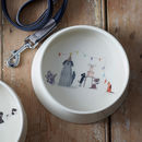 Illustrated Dog Tales Party Dog Bowl