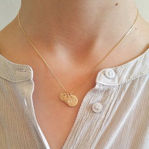 Gold Petit Family Necklace - gifts for mothers