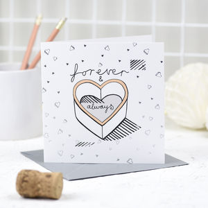 'Forever And Always' Card