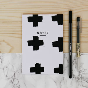 Giant Cross Notebook - stationery-lover