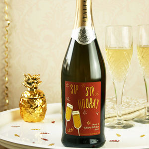 Personalised Congratulations Prosecco - engagement gifts