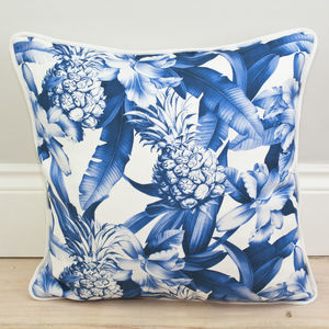 Pineapple Print Cushion