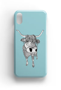 Scottish Highland Cow Cattle Phone Case