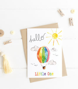 Hello New Baby Card - new baby cards