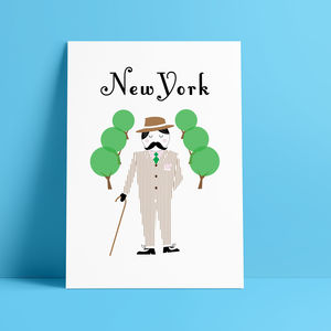 New York Glicée Print