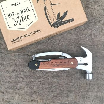 Hammer Multi Tool Personalised