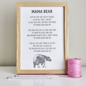 Baby Shower Poem Gift For Mummy