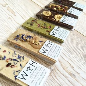 Raw Chocolate Selection Pack Of Six - gifts for her