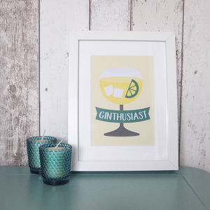 Ginthusiast A5 Print