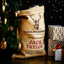 The Marlowe Personalised Christmas Sack