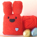Chunky Bunny Knit Kit in Red