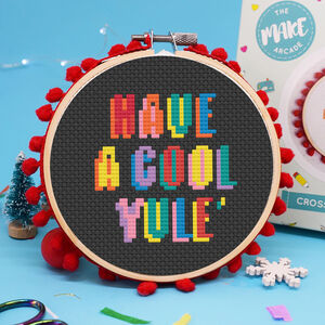 Have A Cool Yule Cross Stitch Kit