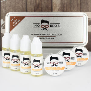Beard Balm And Oil Gift Set