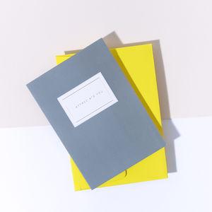 'I Appreciate You' Card - blank cards