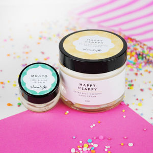 Hand Cream And Lip Balm Bundle