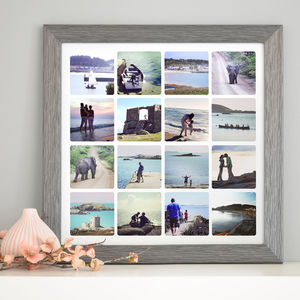 Personalised Photo Collage Canvas Or Print - canvas prints & art