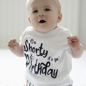 Kids Birthday T Shirt